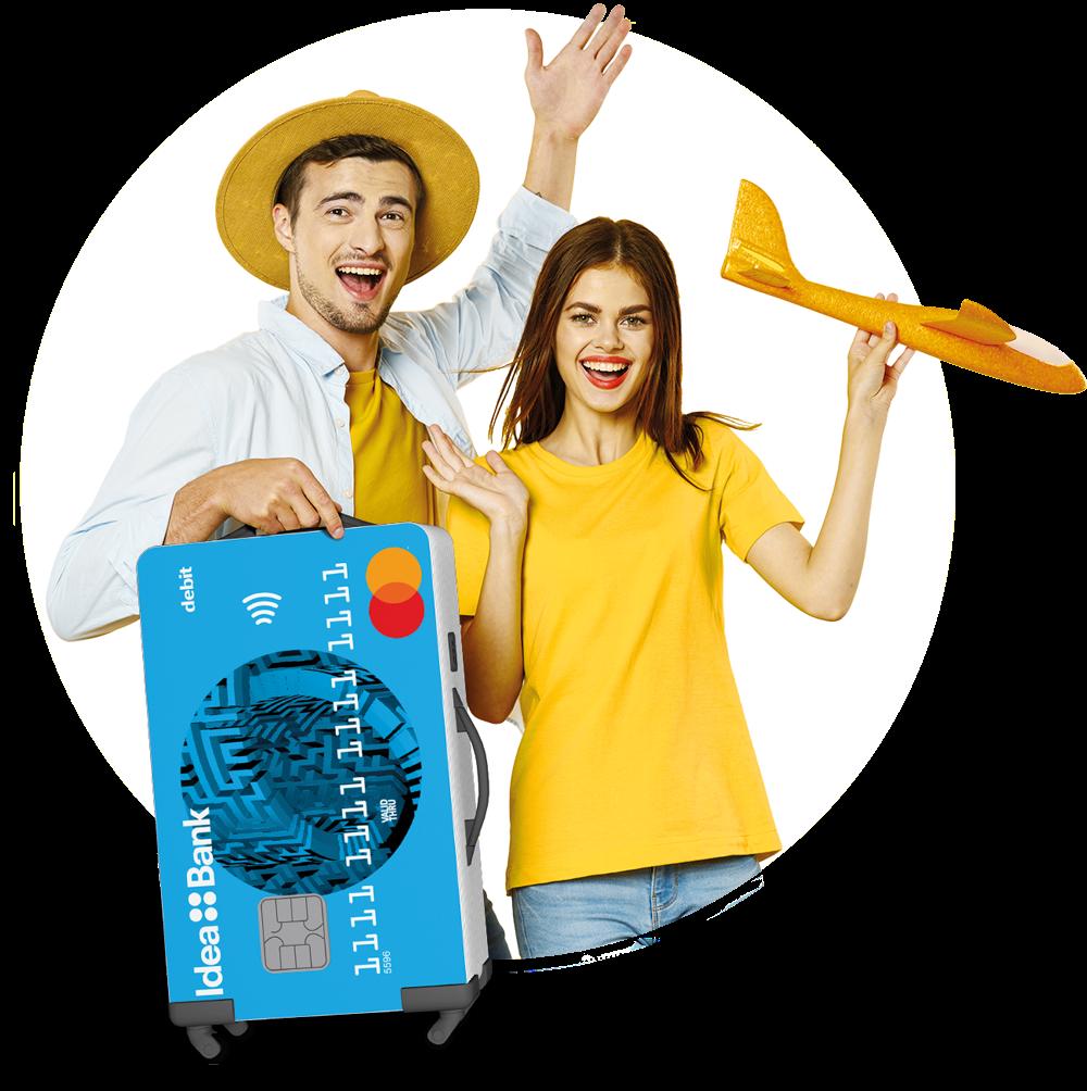 Fii activ cu cardul Mastercard Idea::Bank și câștigă premiile unei veri active!